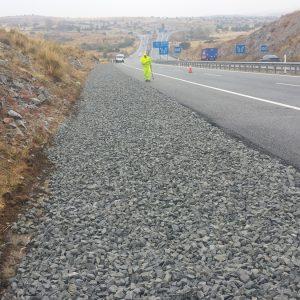 Extendido arcenes carretera
