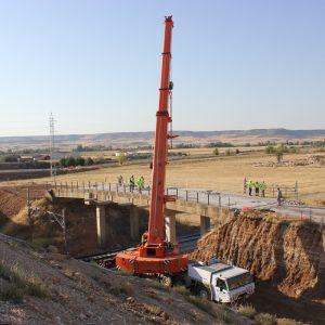 Demolición de puente