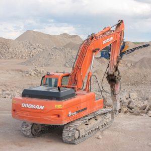 Maquina demolición Doosan