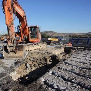 Demolición Puente AP-6 349