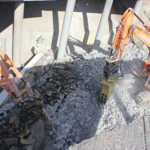 Demolición Puente AP-6