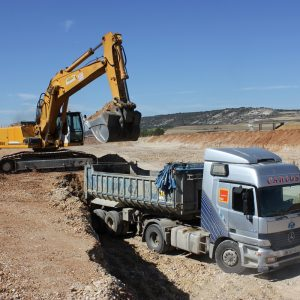 transporte de tierras